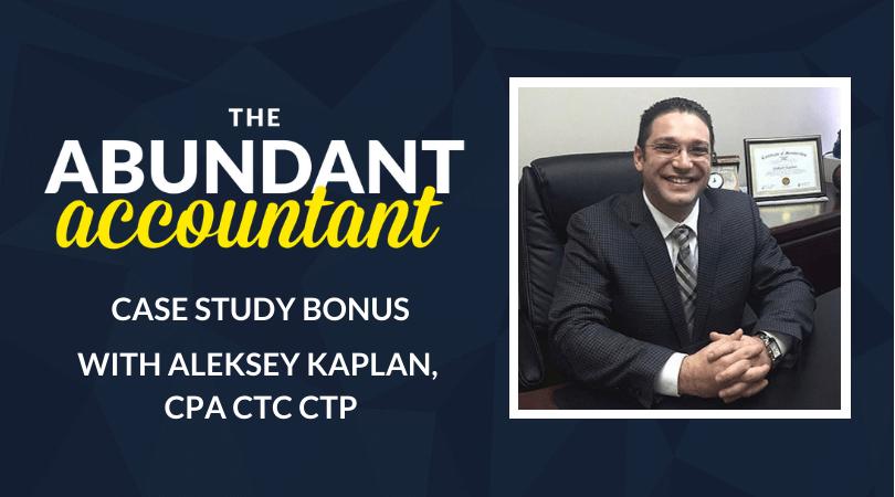 Aleksey Kaplan TAAP Case Study